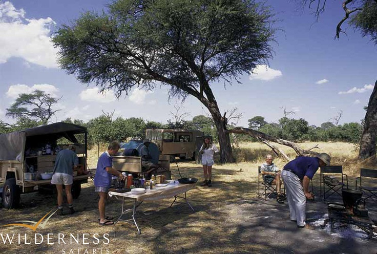 Humble beginnings – Gourmet cuisine in a bush kitchen. Click on the image for the full story.
