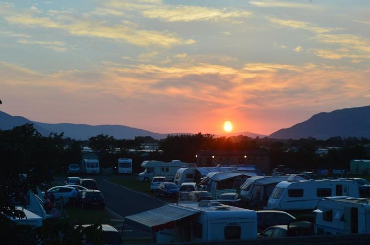 Chestnutt Holiday Park, Kilkeel, Newry, County Down, Northern Ireland. Holiday. Travel. Outdoors. Coast. Campsite. Camping.