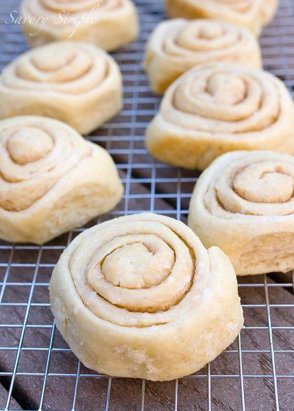 Buttery Sourdough Buns - Savory Simple @Jenn L Milsaps L Farley   Savory Simple