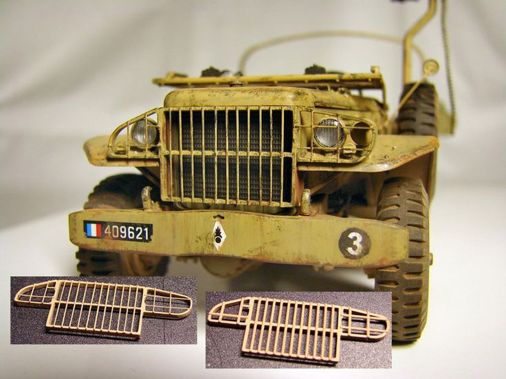 ..This Dodge model depicts desert patrol car of French Foreign Legion in Algeria, built with lots of improvements and additional details. Different PE parts were installed as well as scratch-built parts. Painted with brushes with Tamiya enamels, we...
