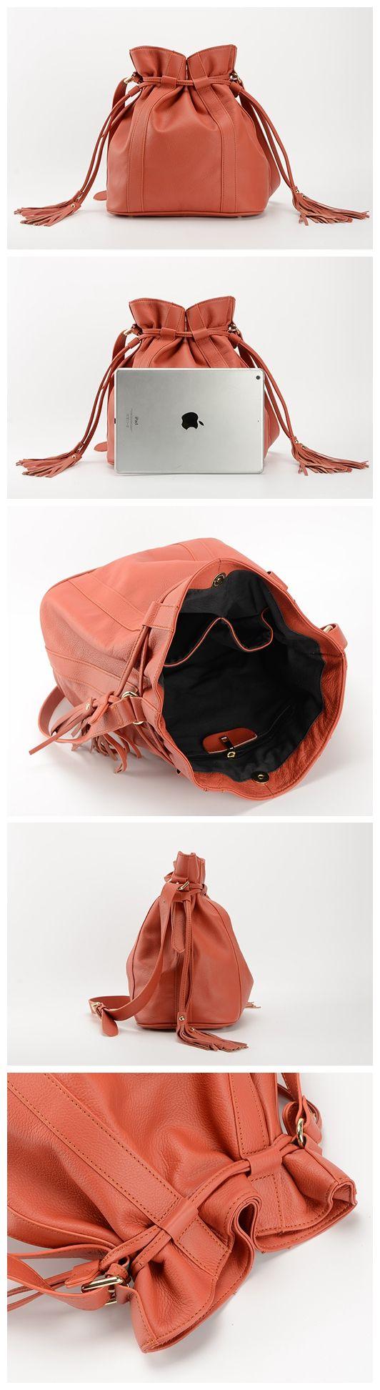 Handmade Leather Shoulder Bag For Women