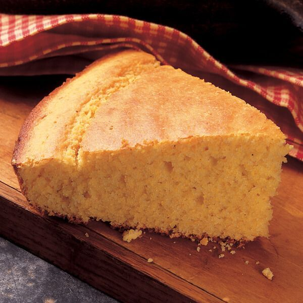 Sour Cream Cornbread - Bake this moist and sweet cornbread to enjoy with a favorite soup or stew.