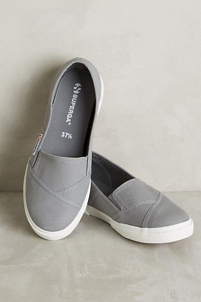 Superga Slip-On Sneakers - Love these slip ons! I have grey adidas so.. another color???