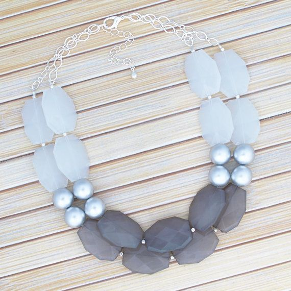 $29 Confidence and sophistication is what youll get the moment you wrap your neckline with this enchanting neutral statement piece. Its faceted