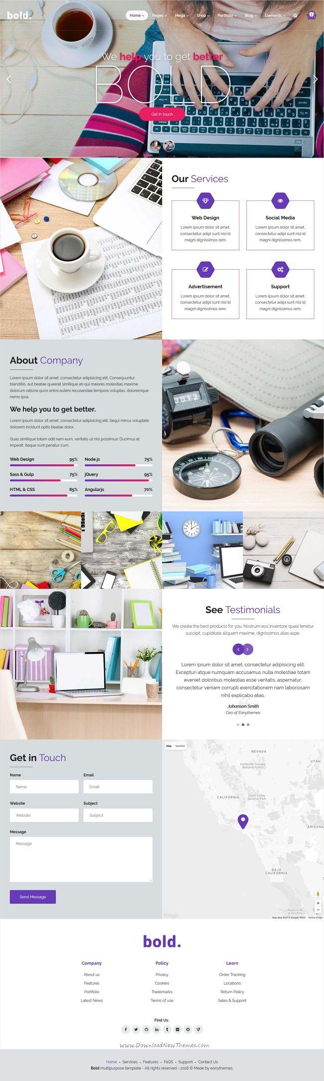 Fein Bootstrap Vorlage Website Zeitgenössisch - Beispiel ...