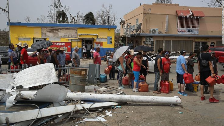 Oxfam, a global organization working to end poverty, is criticizing the United States government's response to the crisis in Puerto Rico in the aftermath of Hurricane Maria.
