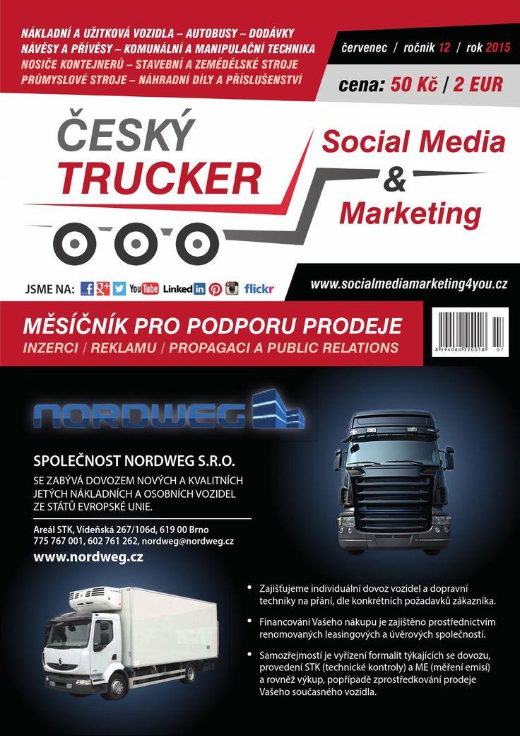 Český Trucker červenec 2015