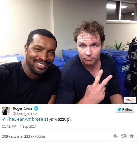 Dean Ambrose On The Set Of Lockdown