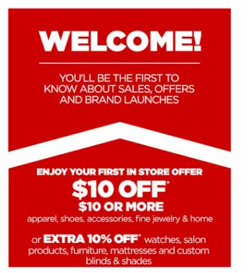 HOT! $10 off $10 JCPenney In Store Coupons! | http://www.passionforsavings.com/coupon/2015/05/hot-10-off-10-jcpenney-in-store-coupons/