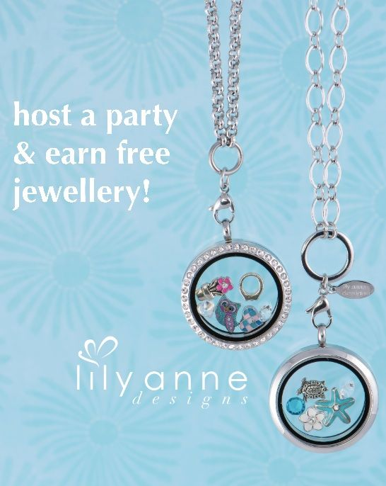 Join the fun and host a party anywhere in Australia. We are Australia's newest party plan company founded right here at the Gold Coast! Earn FREE jewellery! Contact us at: http://www.lilyannedesigns.com.au/moniqueelliott