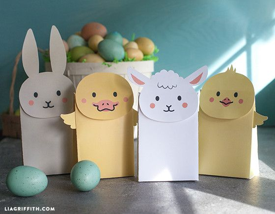 Kids Craft – Make Your Own Easter Goodie Bags