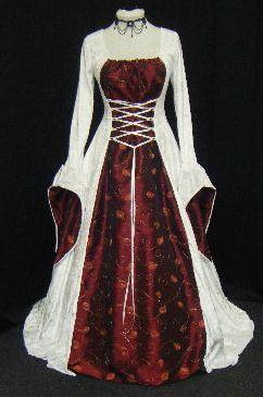 Medieval Wedding Dresses www.disfracesgamar.com Vestidos Medievales para Bodas Hechos a Medida