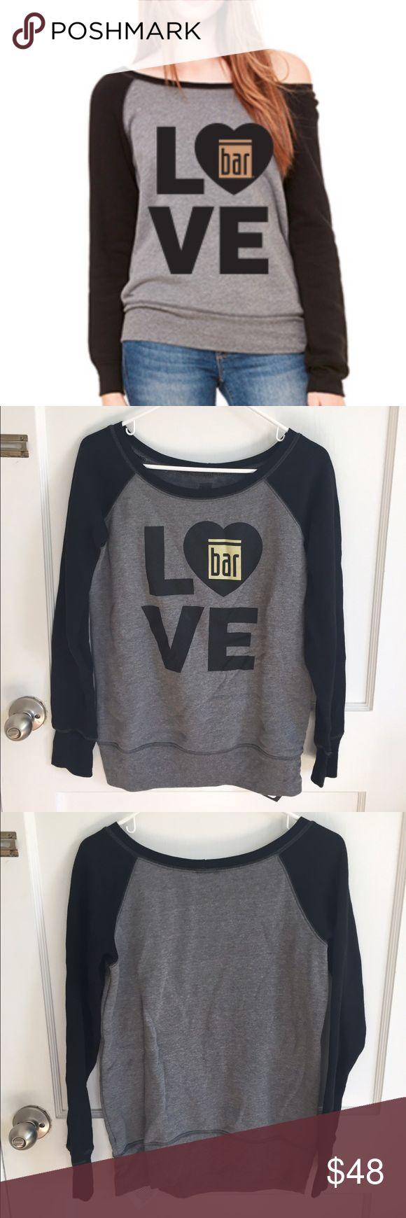 New Bar Method Dancer Sweatshirt Small Brand new, never worn. Sold online right now for $68. So soft! bar method Tops Sweatshirts & Hoodies