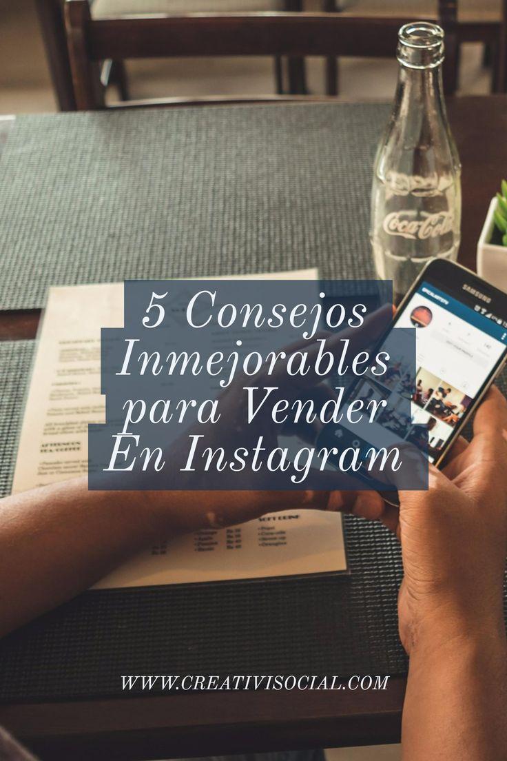 Tu página web ya no es tu único canal para vender productos. Tus redes sociales como Instagram se han convertido en increíbles herramientas de ventas.  Cinco consejos para maximizar tu capacidad de venta en Instagram.