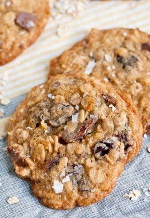 Salted Milk Chocolate Cherry Oatmeal Cookies Neighborfood