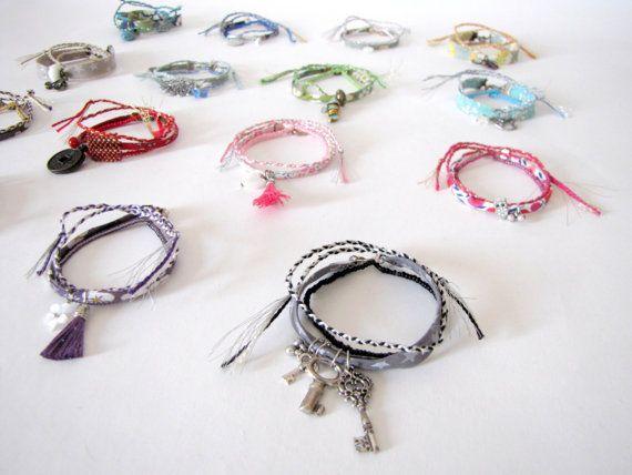 Set de trois bracelets liberty bracelets de par MysteriousCircuss