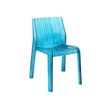 Kartell - Frilly Chair - Light Blue