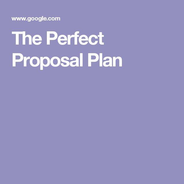 Perfect Proposal, Romantic