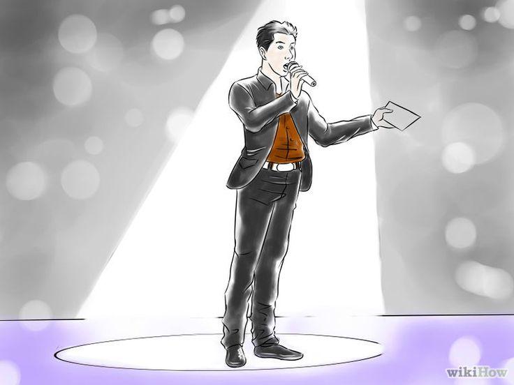 Cómo ser maestro de ceremonias de un evento: 22 pasos