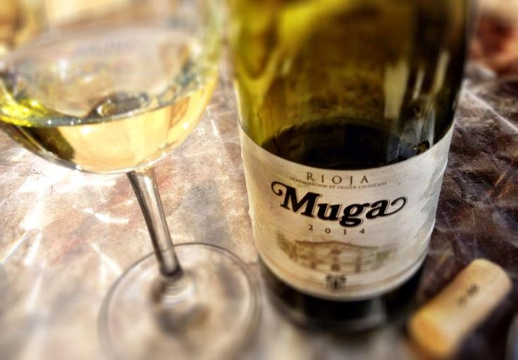 El Alma del Vino.: Bodegas Muga Blanco Fermentado en Barrica 2014.