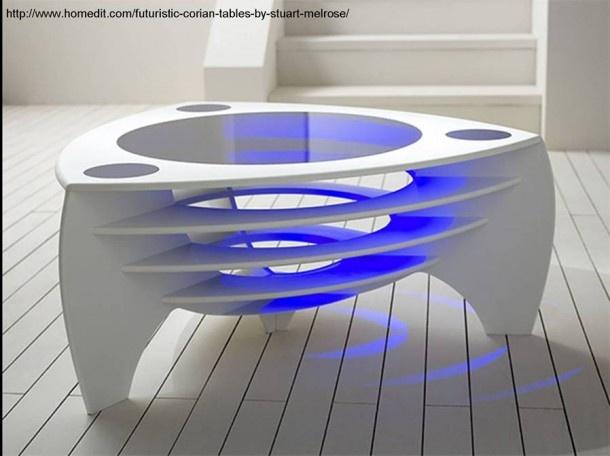 Corian® Design U0026 Inspiration » Futuristic Corian® Tables By Stuart Melrose.  Cool TablesCoffee Table ...