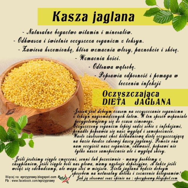 Przyprawy - Blog o przyprawach, ziołach, zdrowym odżywianiu i gotowaniu : DIETA JAGLANA - na czym polega ?  plus zalety kasz...