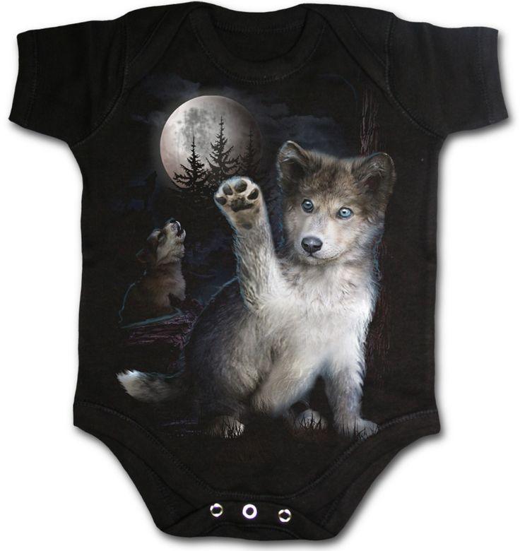 Wolf Puppy Onesie
