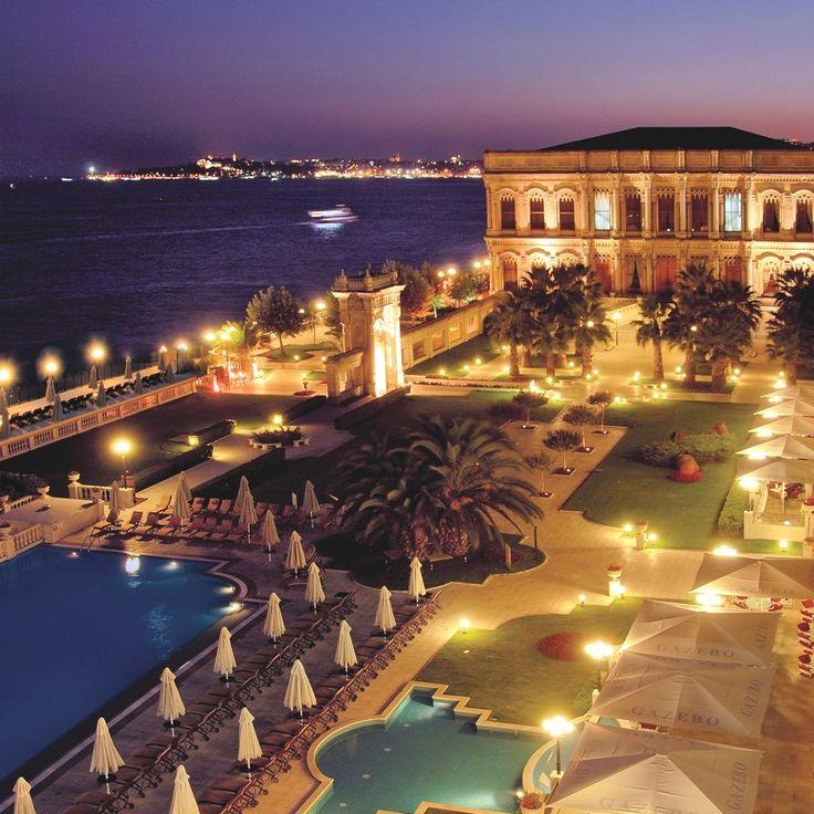Çırağan Palace Kempinski Hotel in Istanbul, Turkey