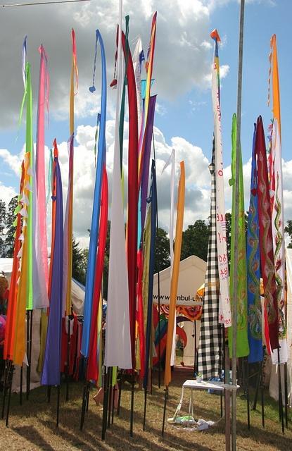 wedding garden flags