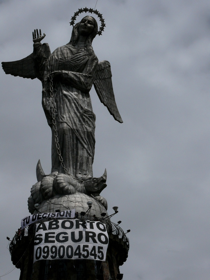 Launch of the hotline in Equador. Do you need an abortion and you live in Equador? http://jovenesdespenalizacionaborto.wordpress.com    593098301317