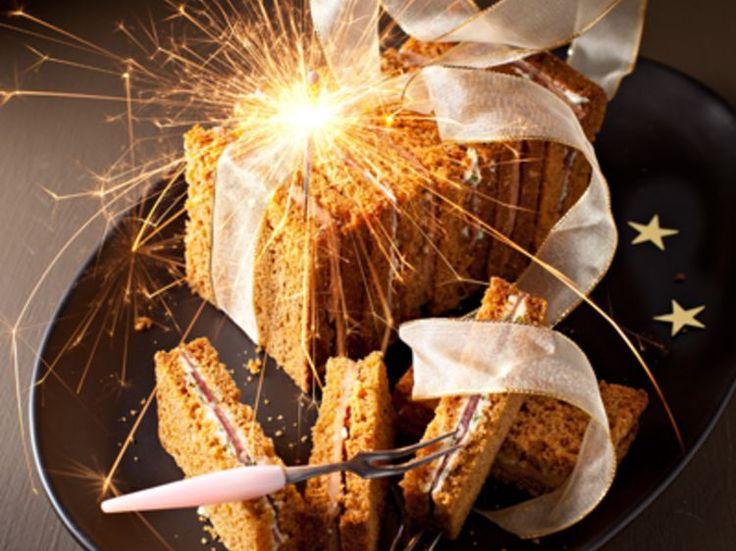 Découvrez la recette Pain d'épice au foie-gras et magret sur cuisineactuelle.fr.