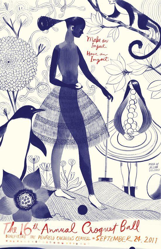 Illustrator and cartoonist Jillian Tamaki.: