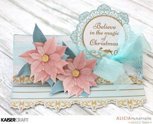 Kaisercraft Christmas Wishes Card by Alicia McNamara