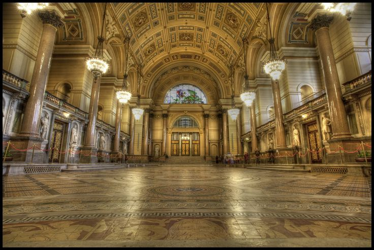 The Great Hall, St Georges Hall, Liverpool