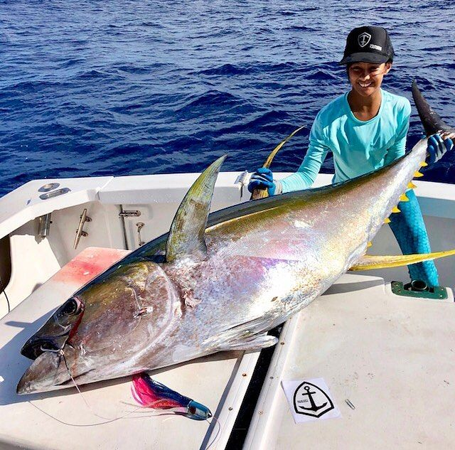 b130cb0bf141 The 7 Alii Blue Frost putting a good one up for The Ahi Master Tournament!     ahimasterstournament2018  georgehaydu    aliibullet  tsutomulures