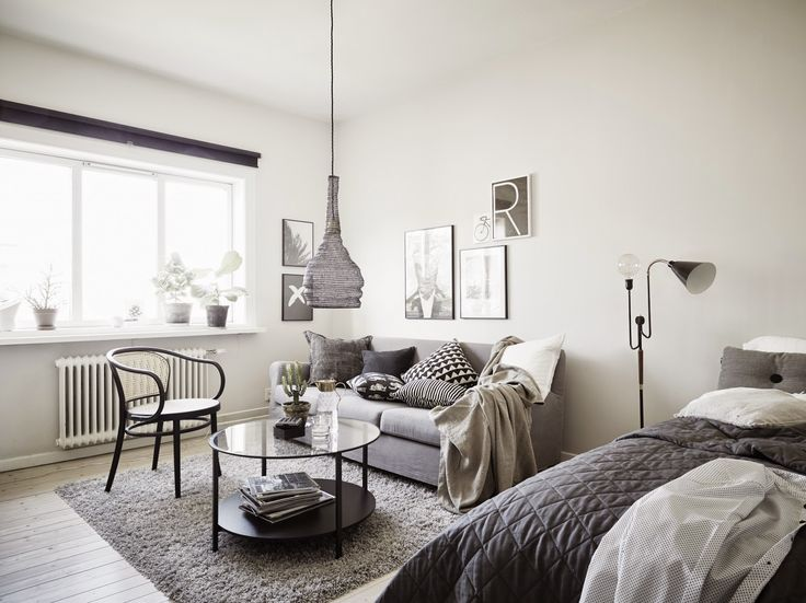 25 Best Ideas About One Room Apartment On Pinterest