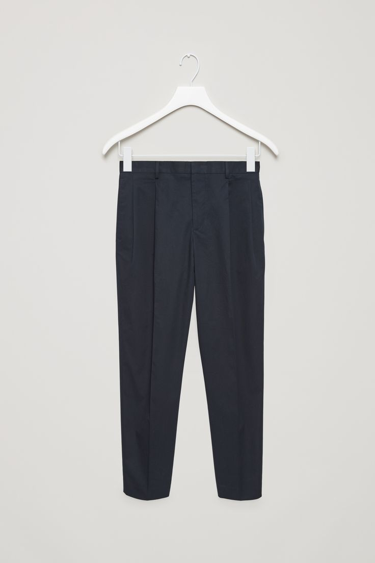 COS | Relaxed cotton twill trousers