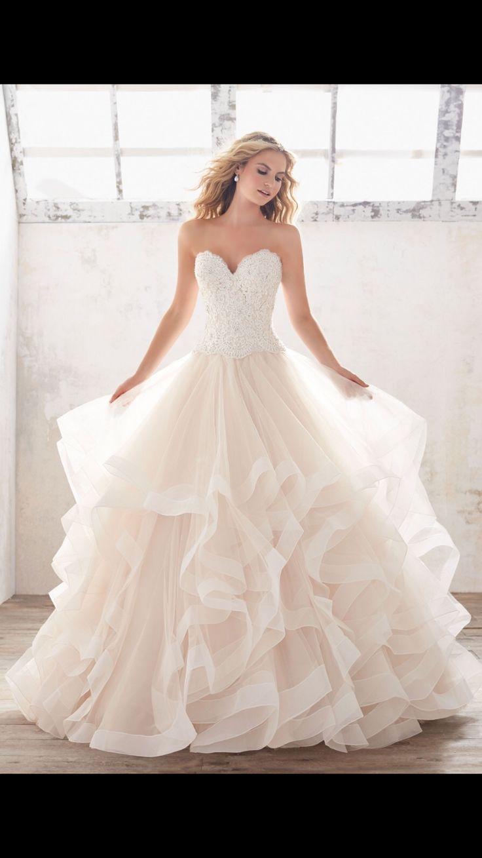 Strapless fitted lace wedding dresses   best Brautkleider images on Pinterest