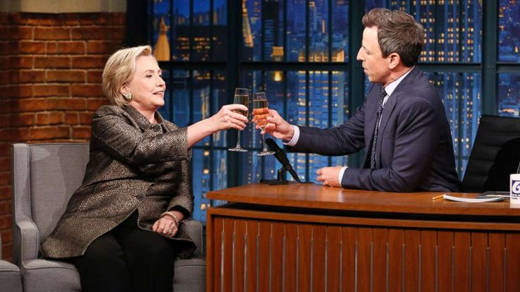 "On the one-year anniversary of her election defeat at the hands of President Donald Trump, Hillary Clinton on Wednesday said the country is on the right track when it comes to rejecting Republican ideologies. ""I think the fever is finally breaking,"" Clinton said in an interview on ""Late Night with..."