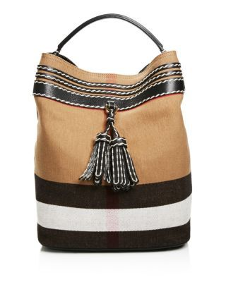 Burberry Ashby Tassel Whipstitch Hobo - 100% Bloomingdale's Exclusive…