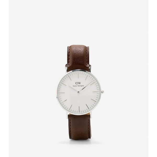 Cole Haan Daniel Wellington - Men's 40mm Bristol Watch (3.290 ARS) ❤ liked on Polyvore featuring men's fashion, men's jewelry and men's watches