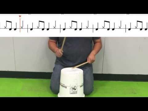 Elementary Drum Set Exercises