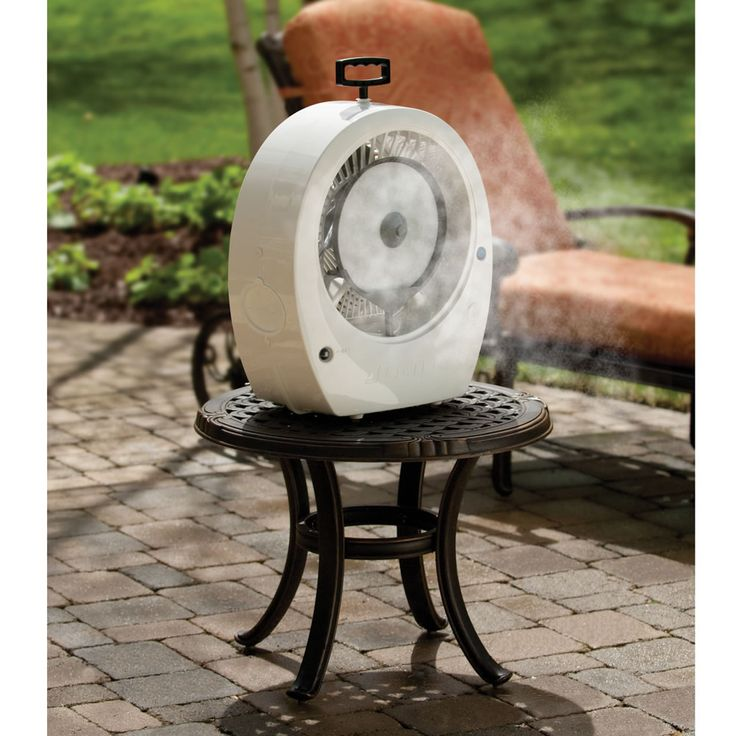 Misting Fans Texas : Best images about outdoor living on pinterest