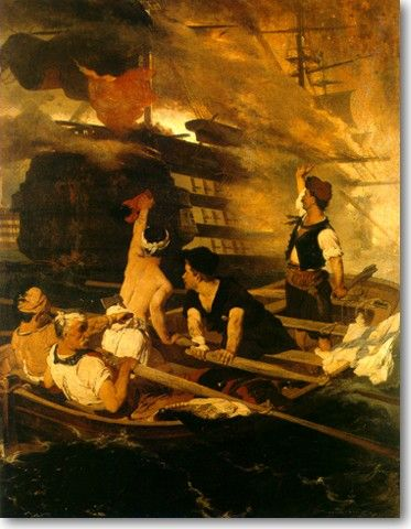 e-αίθουσα: Το 1821 μέσα από  έργα Ελλήνων ζωγράφων