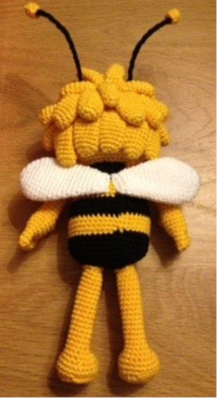 Amigurumi Puppe häkeln Maya die Bee Amigurumi Puppe | Etsy | 1324x720