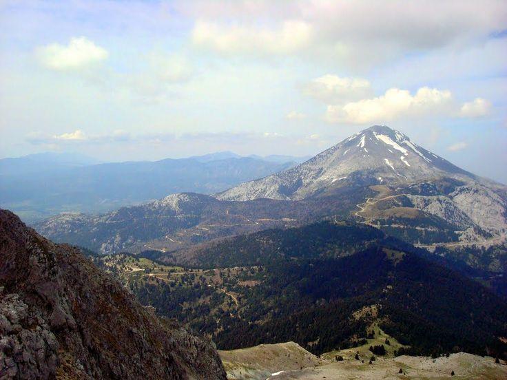 dirfis mountain