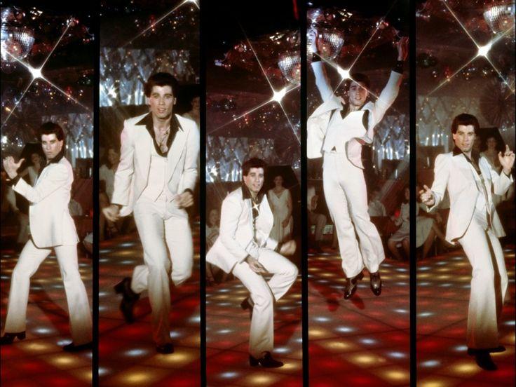john travolta dans 'la fièvre du samedi soir'