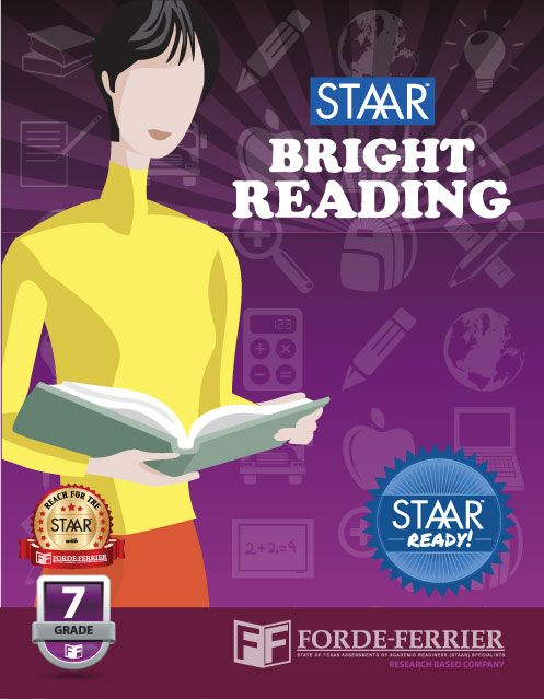 20 best staar resources images on pinterest standardized test texas staar bright reading workbook grade 7 fandeluxe Images