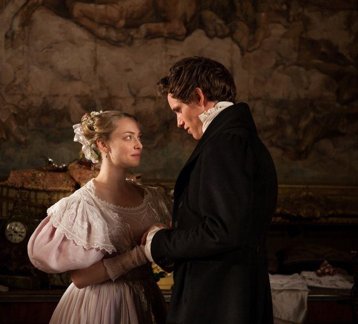 Cosette (Amanda Seyfried) and Marius (Eddie Redmayne), Les Miserables movie