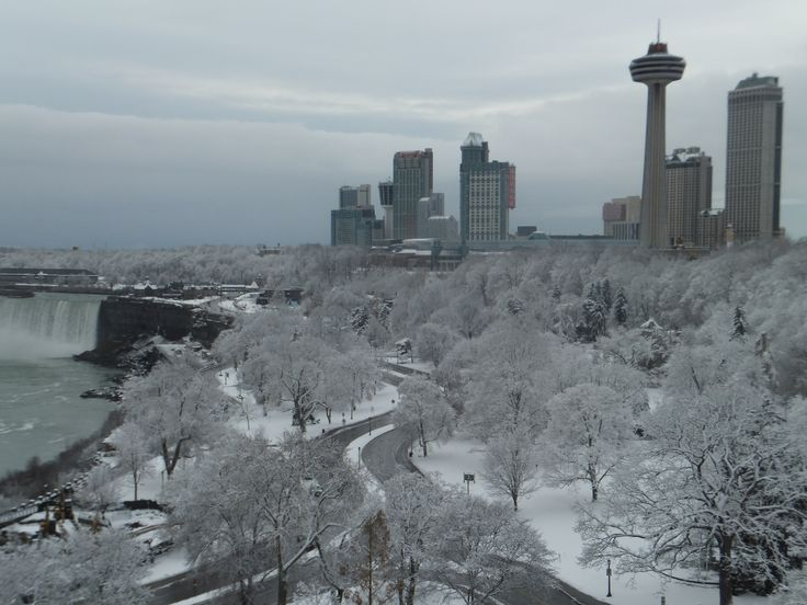 Winter Wonderland from the Sheraton on the Falls at Falls Avenue Resort